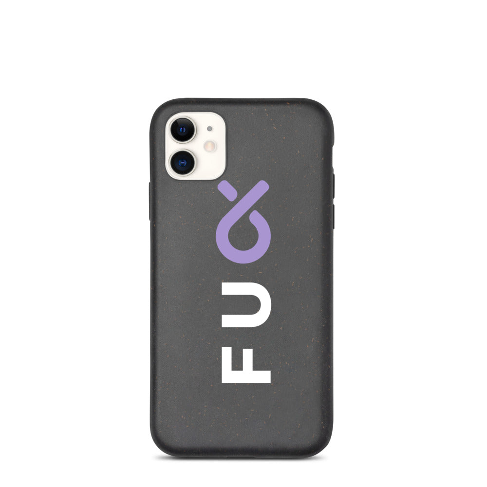 FU Project Biodegradable phone case