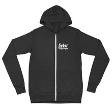 Load image into Gallery viewer, Sober WifeStyle - Unisex zip hoodie