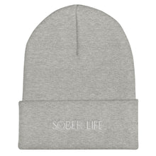 Load image into Gallery viewer, Sober Life - Cuffed Beanie