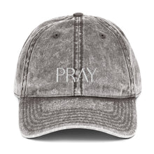 Load image into Gallery viewer, Pray - Vintage Cotton Twill Cap