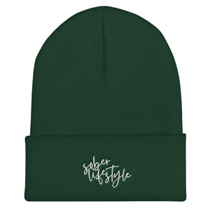 Sober Life Style - Cuffed Beanie