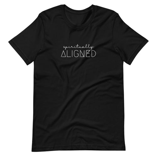 Spiritually Aligned - Short-Sleeve Unisex T-Shirt