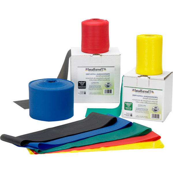 Non-Latex Elastic Resistance Bands