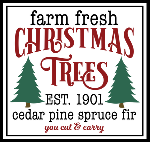 Christmas Trees Free SVG Instant Download