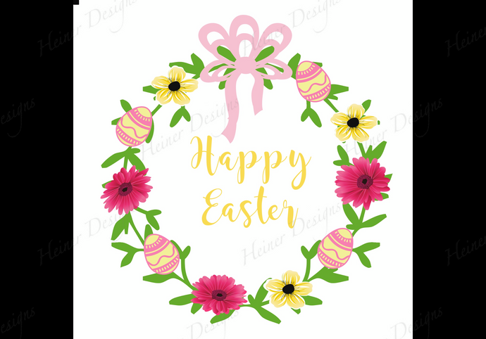 Easter Spring Wreath