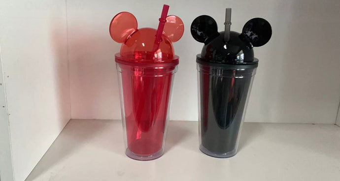 Mickey double wall acrylic tumbler
