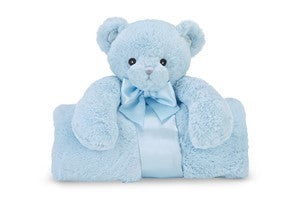 Blue Bear Blanket