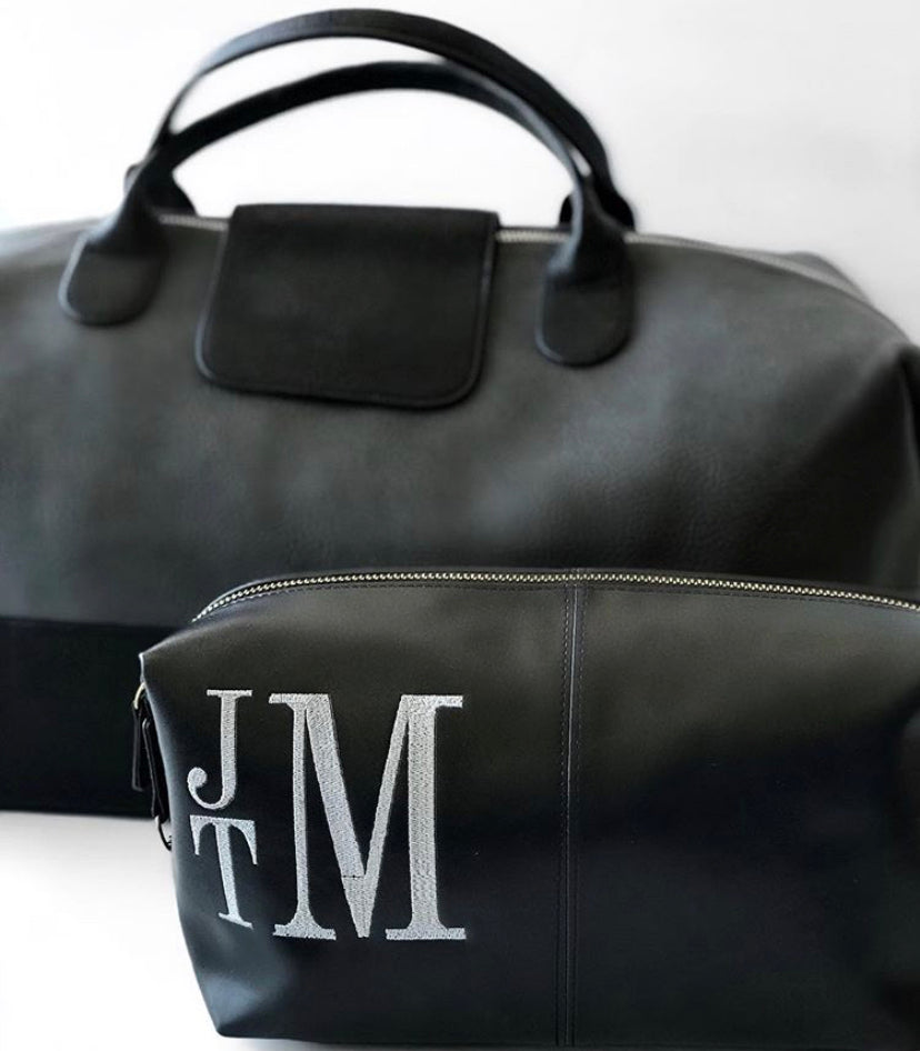 Black Journeyman Dopp Kit