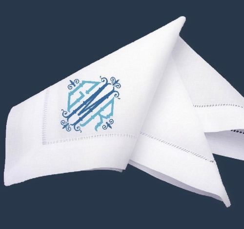 Hemstitch Dinner Napkin