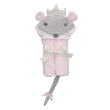 Load image into Gallery viewer, Princess Mousie Hooded Towel