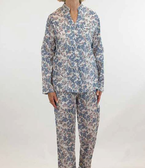 FRENCH COUNTRY - LONG SLEEVE PYJAMAS - WINTER BLOOM