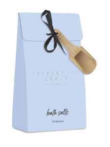 PEPPERMINT GROVE - BATH SALTS - ASSORTED