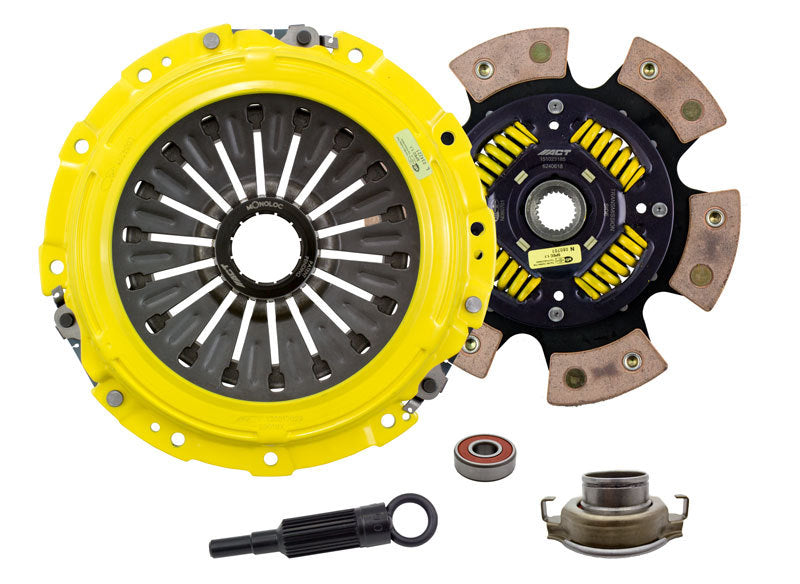 ACT - [product_sku] - ACT 2006 Subaru Impreza XT-M/Race Sprung 6 Pad Clutch Kit - Fastmodz