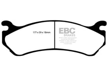 Load image into Gallery viewer, EBC 02 Cadillac Escalade 5.3 (Akebono rear caliper) Yellowstuff Front Brake Pads - free shipping - Fastmodz