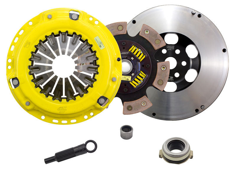 ACT - [product_sku] - ACT 2007 Mazda 3 HD/Race Sprung 6 Pad Clutch Kit - Fastmodz