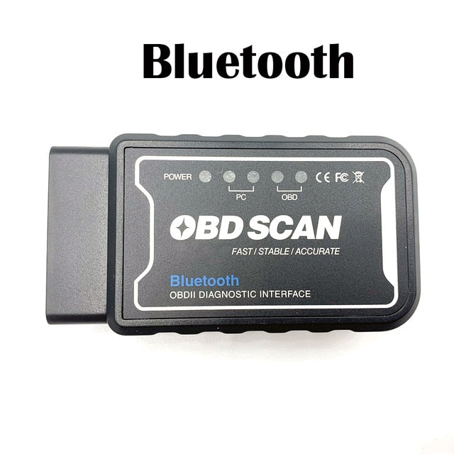 Innovative Performance - [product_sku] - Bluetooth ELM327 Scanner WIFI V1.5 ELM 327 PIC18F25K80 Version 1.5 OBD2 / OBDII for Android Torque Car Code Scanner - Fastmodz