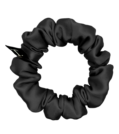Tender Objects 20mm silk scrunchie in Night Air