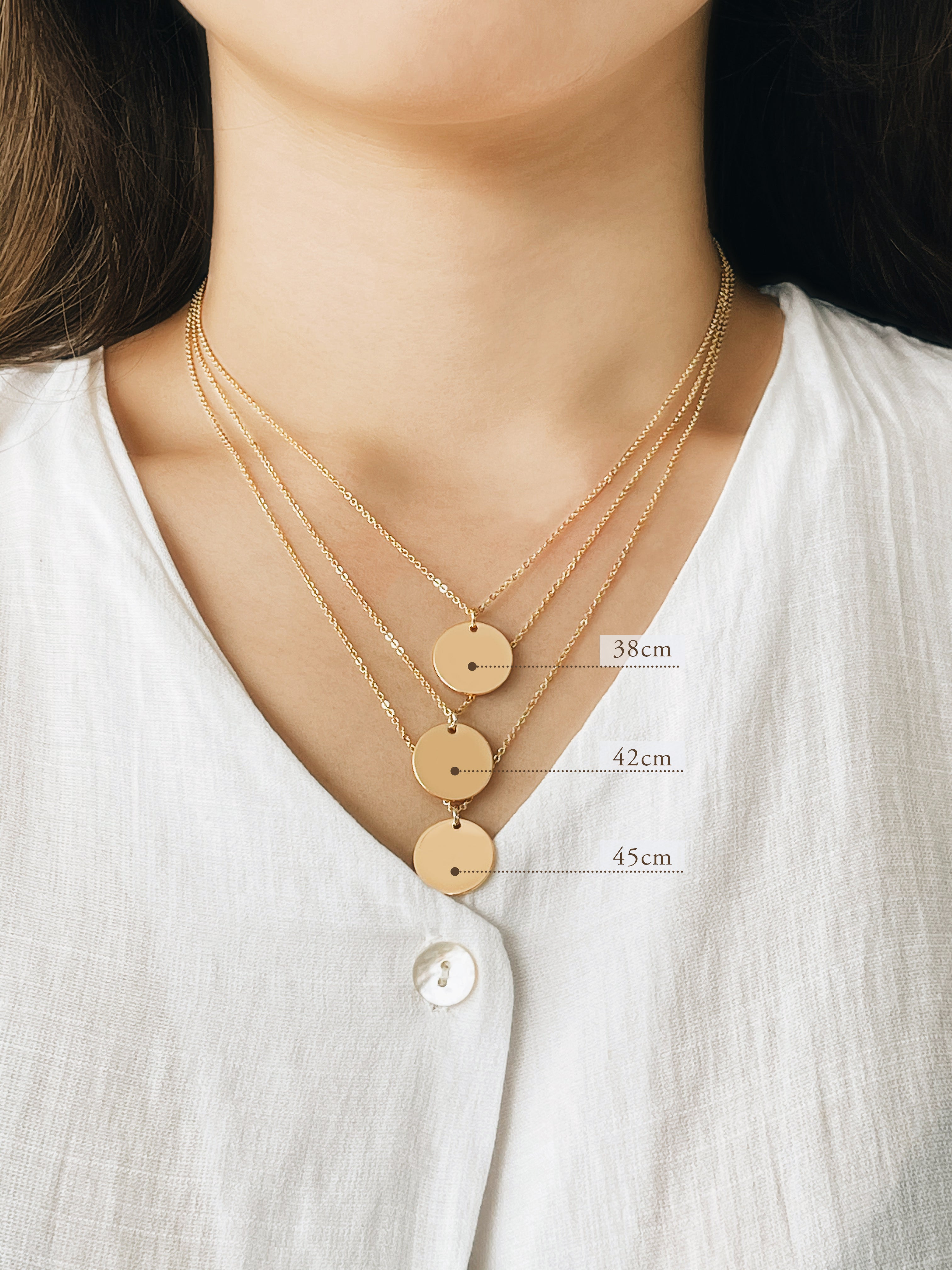 Tender Objects Necklace chain lengths
