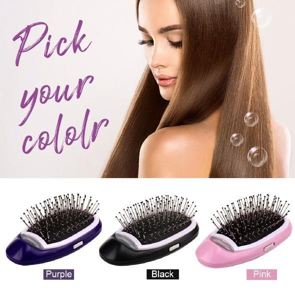 Straightening Ionic Hair Brush - Living General