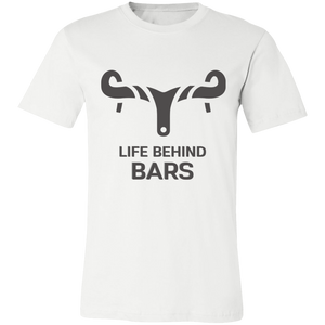 LIFE BEHIND BARS Unisex Cycling Jersey Short-Sleeve T-Shirt - Living General