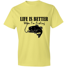Load image into Gallery viewer, LIFE IS BETTER When I'm Fishing T-Shirt - Living General