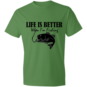 LIFE IS BETTER When I'm Fishing T-Shirt - Living General