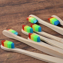 Load image into Gallery viewer, Natural Bamboo Toothbrush (10 pieces) - Living General