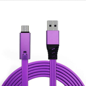 Repairbale USB Fast Charging Cable Gadget All-Category Digital Direct Store Purple Cable for Type-C