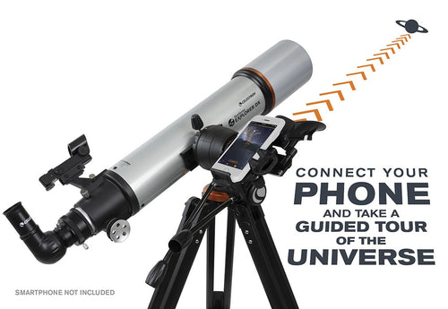 Celestron StarSense Explorer DX 102AZ - Smart phone app-enabled refractor telescope