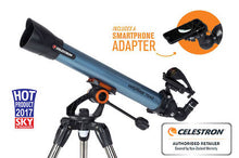 Load image into Gallery viewer, Celestron Inspire 70mm AZ Refractor Telescope