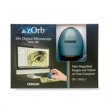 Load image into Gallery viewer, Carson zOrb Digital USB Microscope 35x (mm480)