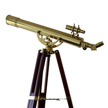Load image into Gallery viewer, Saxon Grandeur 809B Brass Refractor Telescope