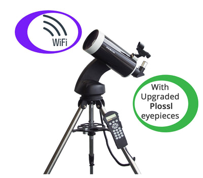 Saxon Astroseeker 127mm MAK Cassegrain GoTo Telescope [WiFi Enabled with Hand Controller]