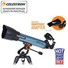 Load image into Gallery viewer, Celestron Inspire 100mm AZ Refractor Telescope