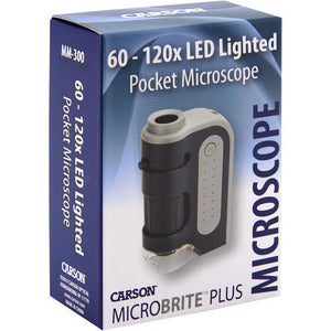 Carson  60-120x Microscope with LED (mm300)