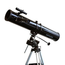 Load image into Gallery viewer, saxon 1149 EQ Astronomy Reflector Telescope with Motor Drive