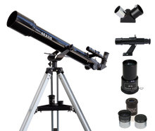 Load image into Gallery viewer, saxon 707AZ2 Refractor Telescope