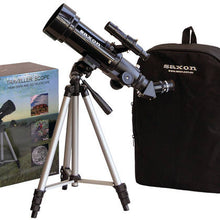 Load image into Gallery viewer, Saxon 70mm Beginners Travel Telescope with Tripod