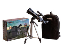 Load image into Gallery viewer, saxon 70mm Beginners Travel Telescope with Tripod, Mount and Backpack