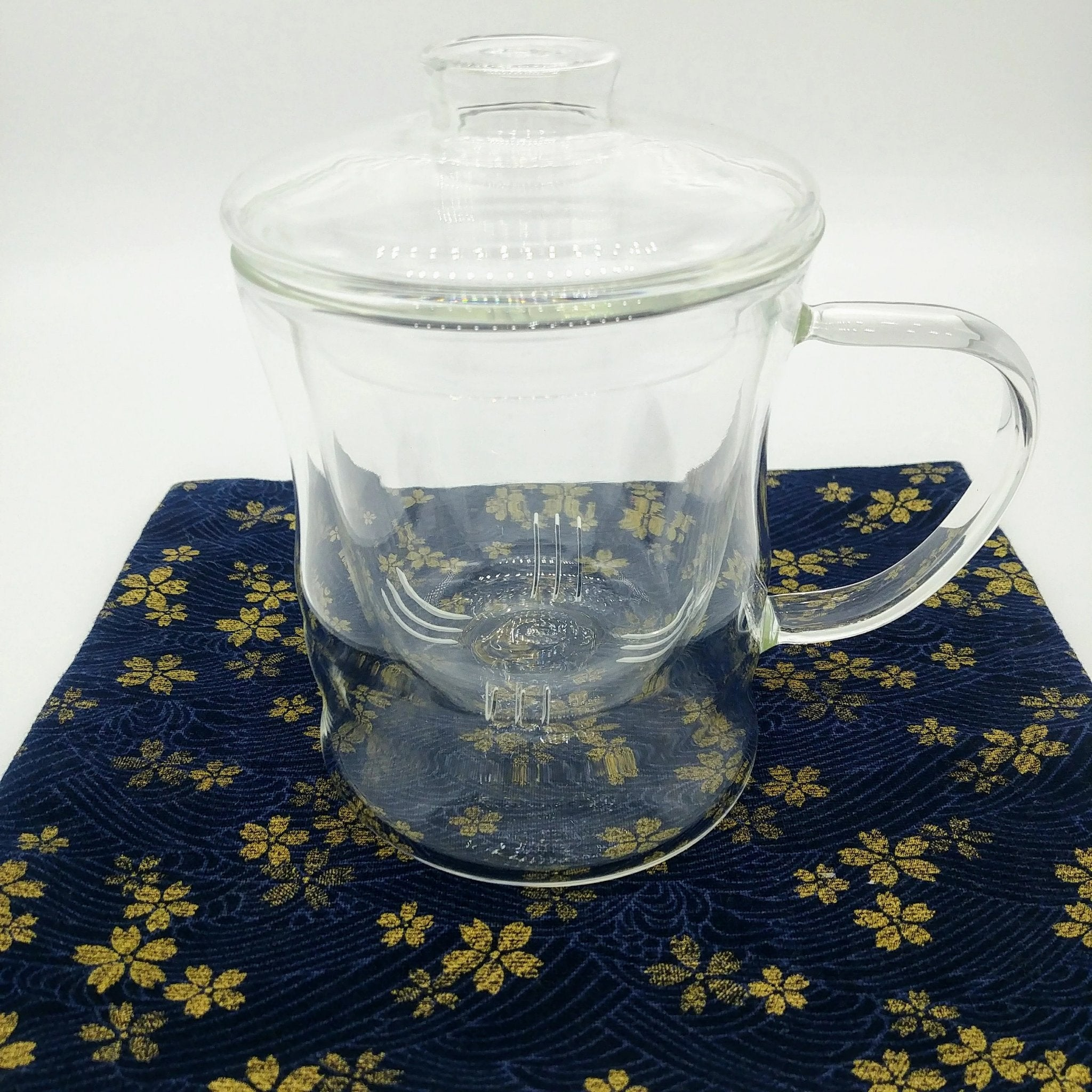 Glass Mug with Glass Infuser