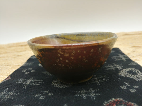 Wood-Fired, Stoneware Teacup. Handmade by Jonathan Steele (2/6)