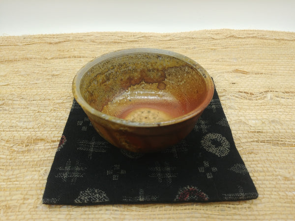 Wood-Fired, Stoneware Teacup. Handmade by Jonathan Steele (4/6)