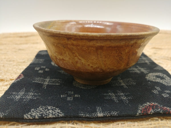 Wood-Fired, Stoneware Teacup. Handmade by Jonathan Steele (6/6)