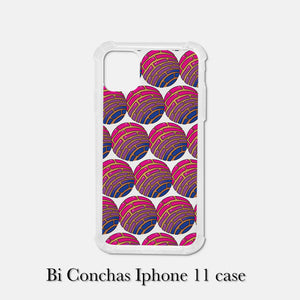 Bi Pride Conchas Iphone case