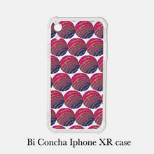 Load image into Gallery viewer, Bi Pride Conchas Iphone case
