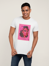 Load image into Gallery viewer, La Dama Drag Queen Printed T-shirt