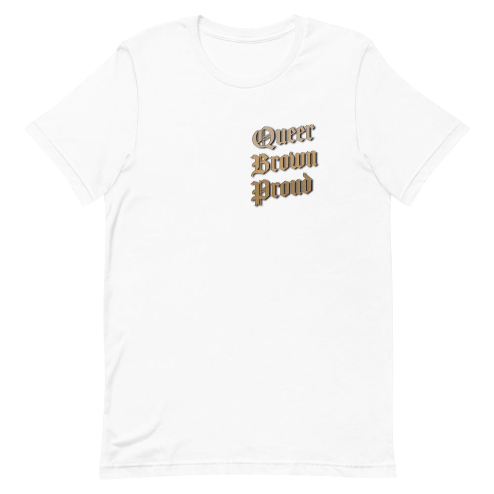 Queer Brown and Proud Unisex T-shirt