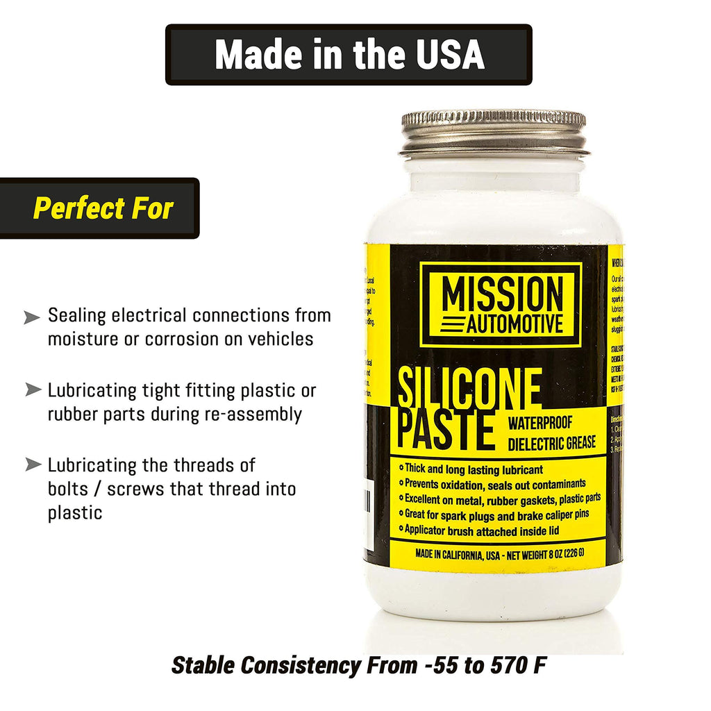 Mission Automotive Dielectric Grease Silicone Paste Waterproof Marine Anee Distribution