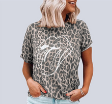 Load image into Gallery viewer, Leopard TONGUE Tee