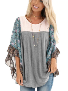 Butterfly Sleeve Top